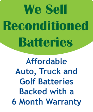 Purchase Reconditioned Batteries
